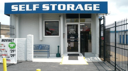 Entrance to Your Storage Place in Houston, TX.